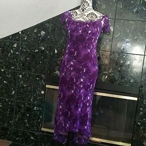 90's Spring floral dress